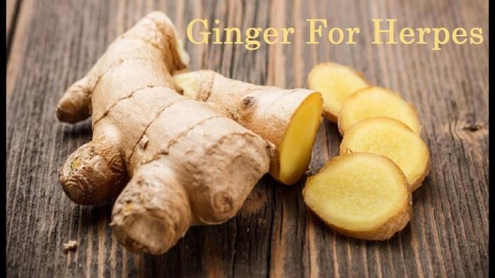 Ginger For herpes